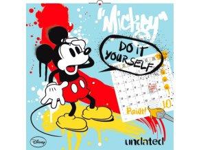 planovaci kalendar mickey mouse s omalovankami nedatovany 30 x 30 cm 13 1