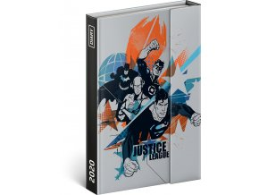 tydenni magneticky diar justice league 2020 11 x 16 cm 4 7