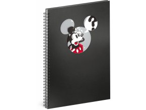 spiralovy blok mickey question linkovany a4 1 0