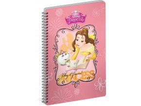 spiralovy blok princezny book a5 linkovany 1