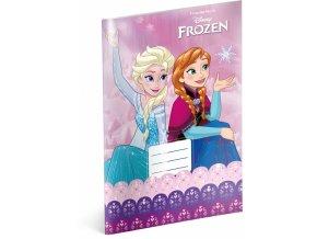 skolni sesit frozen ledove kralovstvi pink a4 20 listu nelinkovany 1 1