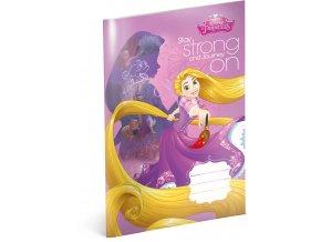 skolni sesit princezny rapunzel a4 20 listu linkovany 1