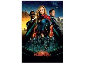 Plakát Captain Marvel - Epic