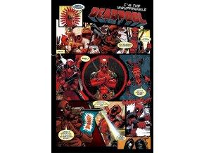 plakát deadpool komiks