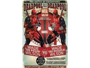 plakát deadpool wade vs wade