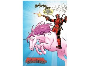 plakát deadpool unicorn