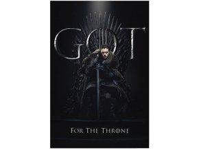 Plakát Hra o trůny - Jon for the Throne