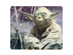 star wars mousepad yoda great warrior