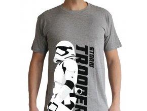 star wars tshirt trooper episode 7 homme mc sport grey basic