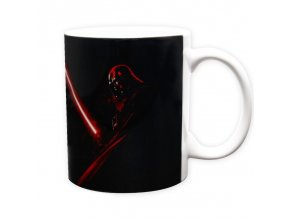 star wars mug 320 ml vader saber subli with box x2