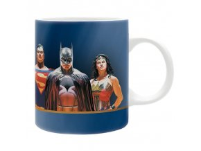 dc comics mug 320ml bat sup ww justice subli box x2