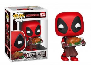 funko pop marvel deadpool christmas holiday b