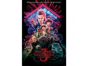 plakat stranger things 3 summer of 85