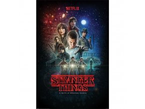 plakat stranger things one sheet