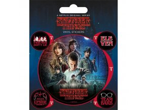 sada samolepek stranger things one sheet