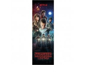 plakat na dvere stranger things one sheet