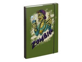 baagl desky na skolni sesity a4 zombie 7
