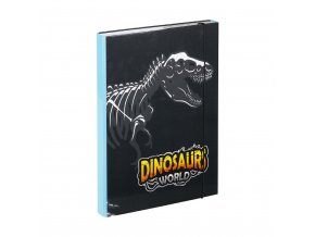 desky na skolni sesity a4 dinosauri 1