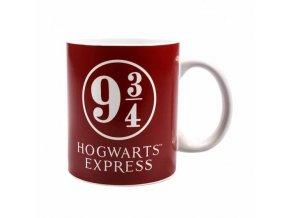 harry potter hrnek nastupiste 9 3 4 hogwarts express