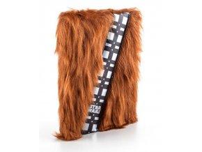 Luxusní Blok A5 Star Wars - Chewbacca