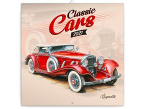 poznamkovy kalendar classic cars vaclav zapadlik 2021 30 x 30 cm 341574 16