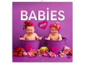 poznamkovy kalendar babies vera zlevorova 2021 30 x 30 cm 250056 16