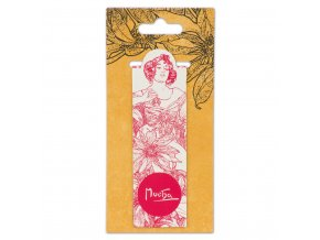 magneticka zalozka alfons mucha ruby fresh collection 3 0