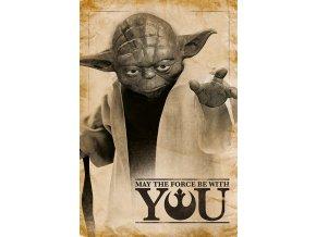 Plakát Star Wars - Yoda