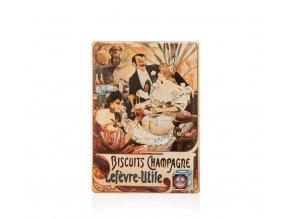 cedule alfons mucha biscuits champagne lefevre 15 x 21 cm 441685 11