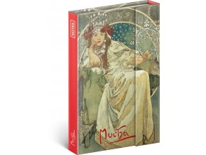 notes alfons mucha princezna linkovany 11 x 16 cm 716594 15