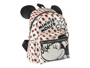 minnie mouse batoh s usima bily