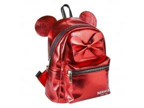 minnie mouse batoh s usima cerveny
