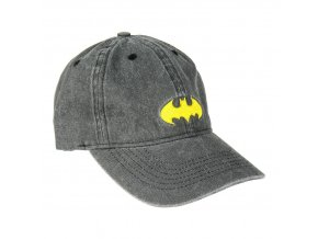 batman baseballova cepice ksiltovka cerna logo