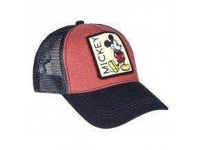 mickey mouse baseballova cepice se sitkou ksiltovka
