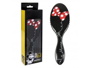 hřeben hairbrush minnie mouse černý black