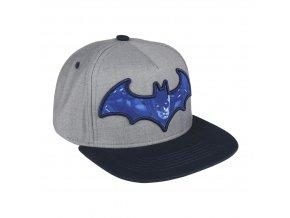 batman baseballova cepice ksiltovka modre logo