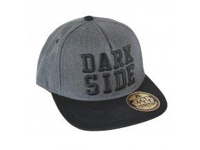 starwars rap cepice ksiltovka seda dark side