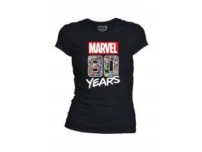 Dámské tričko Marvel - 80 let