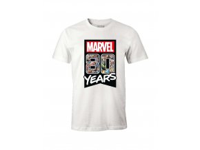 marvel panske tricko 80 years bile