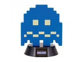 pac man pixelova lampicka blue ghost modry duch