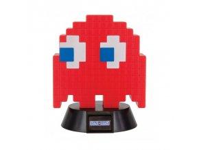 pac man pixelova lampicka blue ghost blinky red