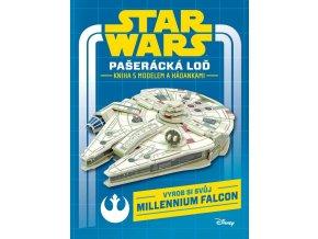 Star Wars Pašerácká loď kniha s modelem a hádankami1