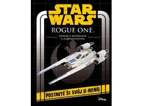 Star Wars Rogue One Kniha s modelem a zajímavostmi1