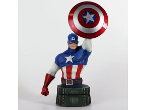 marvel captain america busta