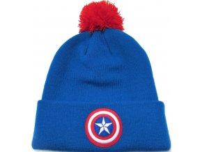 Zimní čepice Captain America - Logo