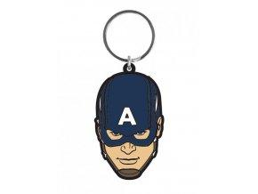 Přívěsek na klíče Avengers - Captain America