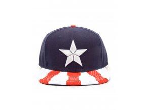 Kšiltovka Rap Captain America - Patriot