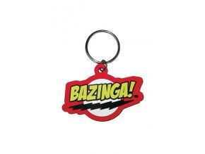Přívěšek na klíče - Bazinga