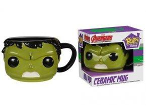 3D Hrnek Avengers - Hulk