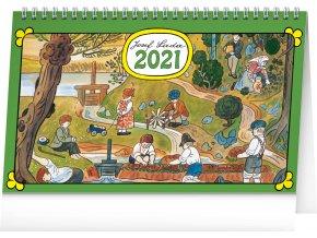 stolni kalendar josef lada na vsi 2021 23 1 x 14 5 cm 145820 15